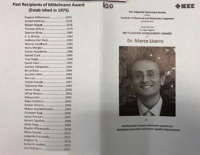 Mittelmann Award